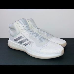 Adidas Mens White Sneakers Size 18
